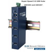 USH204 and USH 207: Four & Seven Port Super-Speed 3.0 USB Hubs